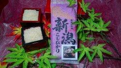 画像1: 無洗米新潟コシヒカリ十六穀米入り